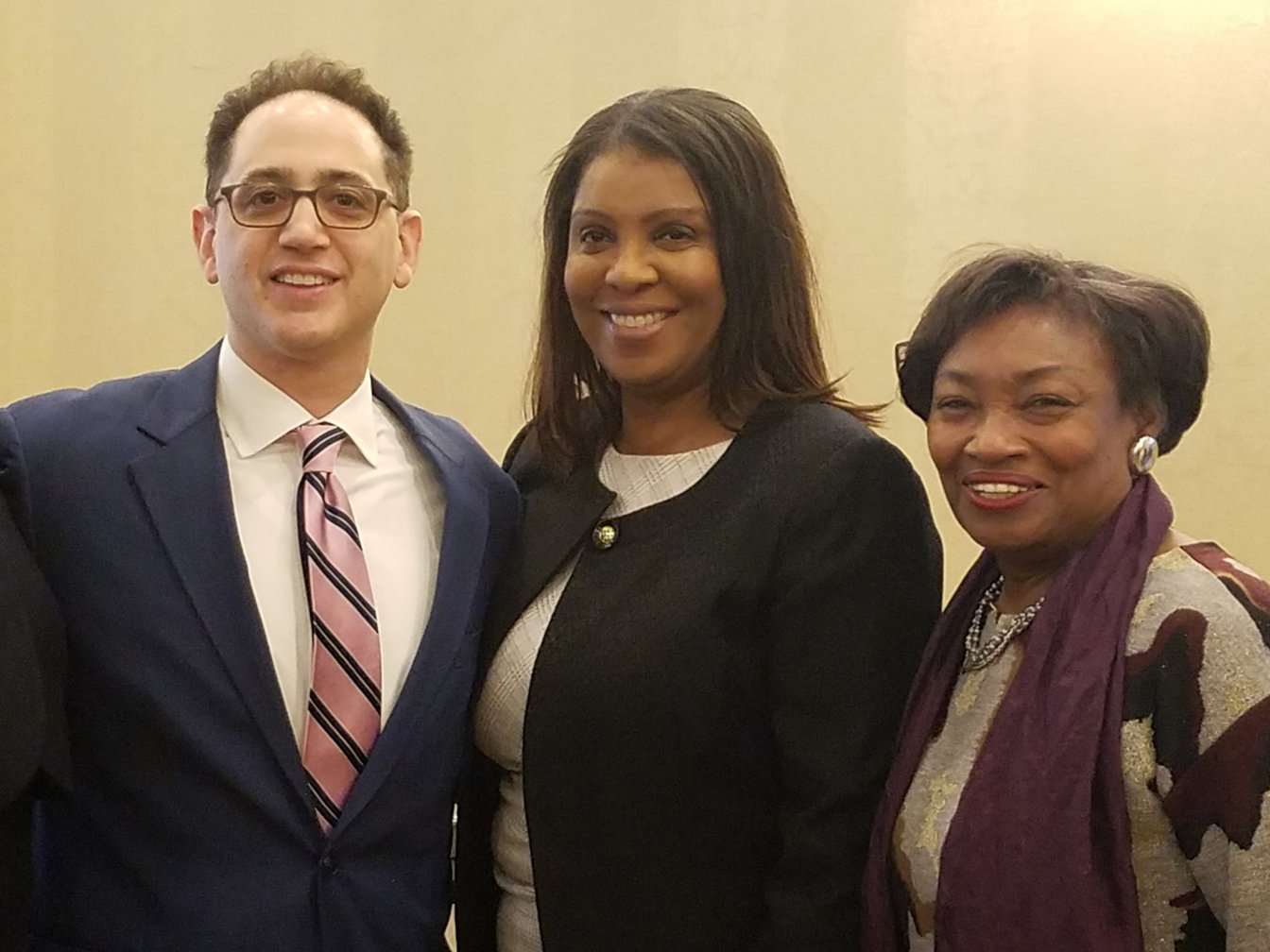 Attorney General Tish James & Majority Leader Sen. Andrea Stewart-Cousins