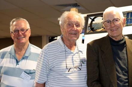 Brian Gunter, Peter Robinson, Peter Cott