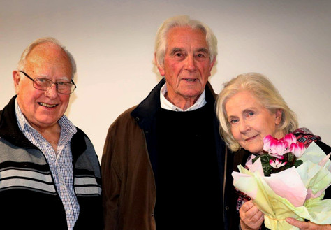 Heide Smith with husband Brian and Wes S