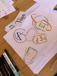 Handletteringworkshop Zeltwerk