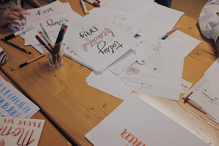 Handletteringworkshop UG14 Altstätten SG