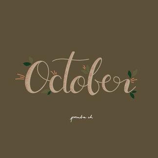LETTERING OCTOBER