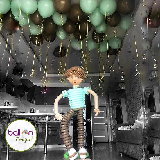 Мальчик из воздушных шариков в Сочи на день рождения