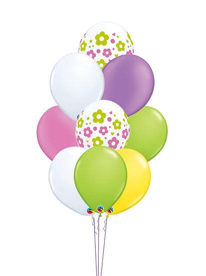 Фонтан воздушных шаров Цветочная фантазия Сочи