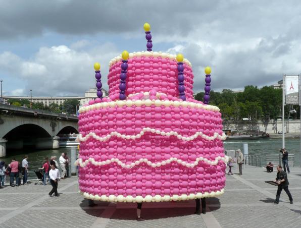 Торт на городской праздник
