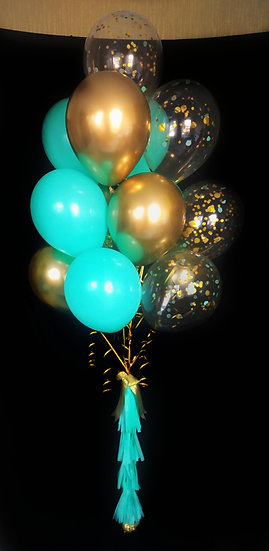 Сет воздушных шаров Тиффани на день рождения в Сочи