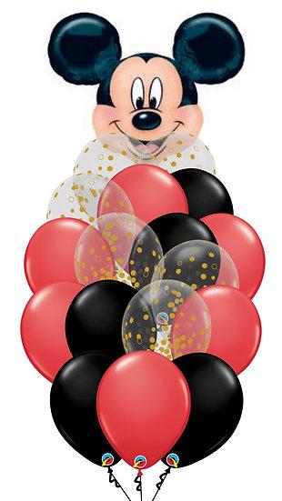 Сет шариков Мой Микки из воздушных шаров с доставкой по Сочи