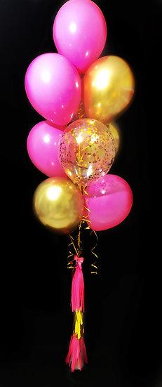 Сет воздушных шаров на день рождения девочке