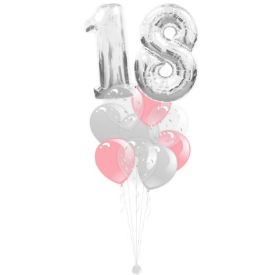 Фонтан из гелиевых шаров на день рождения с доставкой по Сочи