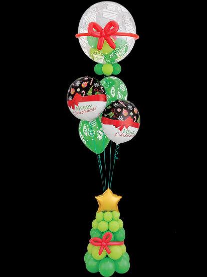 Воздушные шары на рождество в Сочи