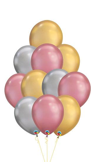Воздушные шары Хром Путь к сердцу женщины Сочи