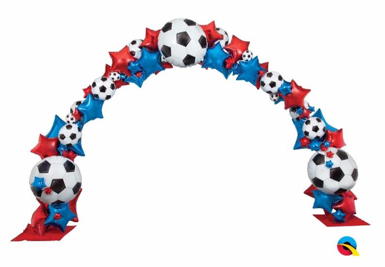 Арка фольгированная футбольная