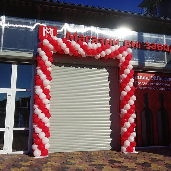 Оформление открытия магазина в Сочи