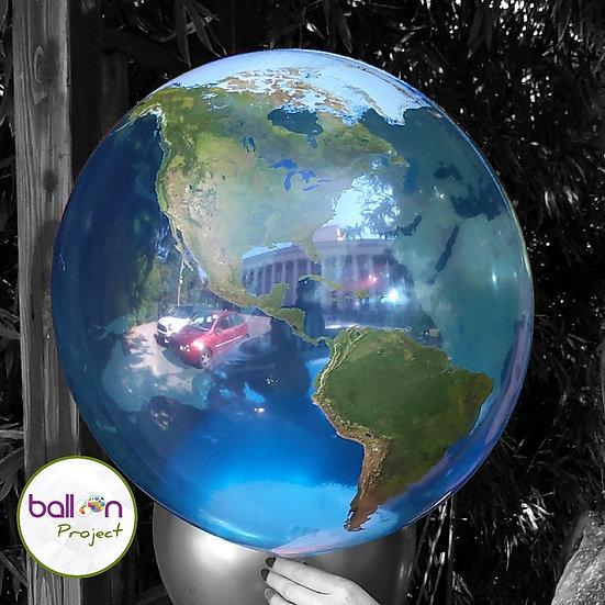 Шар Баблс Планета Земля