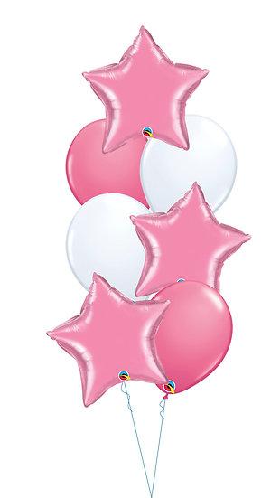 Сет гелиевых шаров на выписку девочки Я родилась Сочи