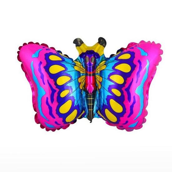 Бабочка 59 см с гелием и лентой