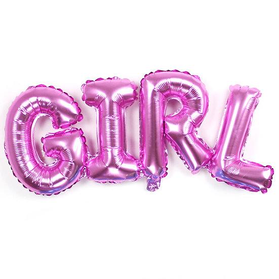 Воздушная надпись на выписку Сочи для девочки