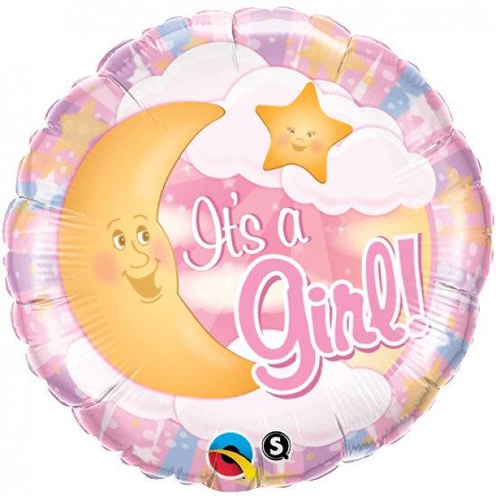 Фольгированные шары на выписку из роддома в сочи для девочки розовые