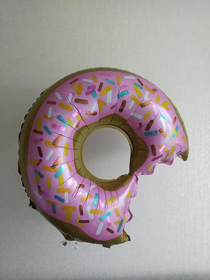 Пончик с гелием и лентой