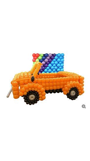Автомобиль на каркасе