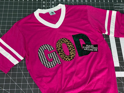 God Rules Jersey T-Shirt