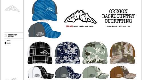 Oregon Backcountry Snapback Hat