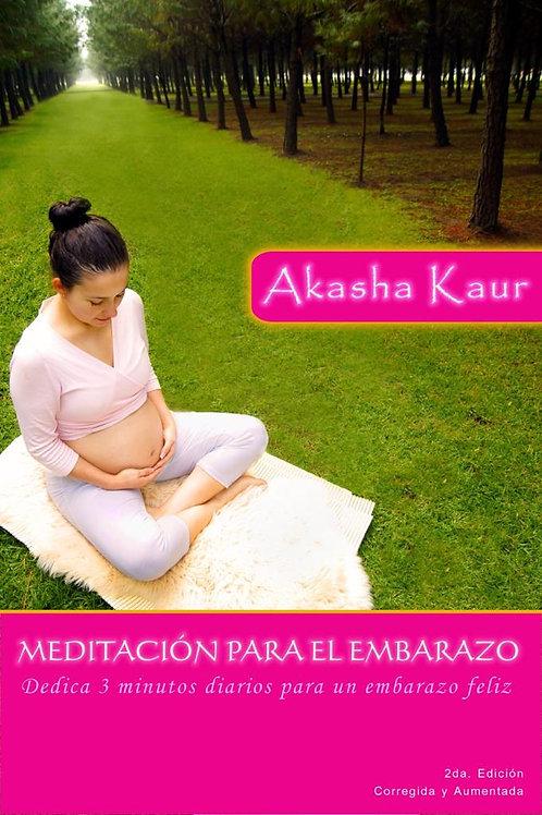 Libro Meditacion Para El Embarazo