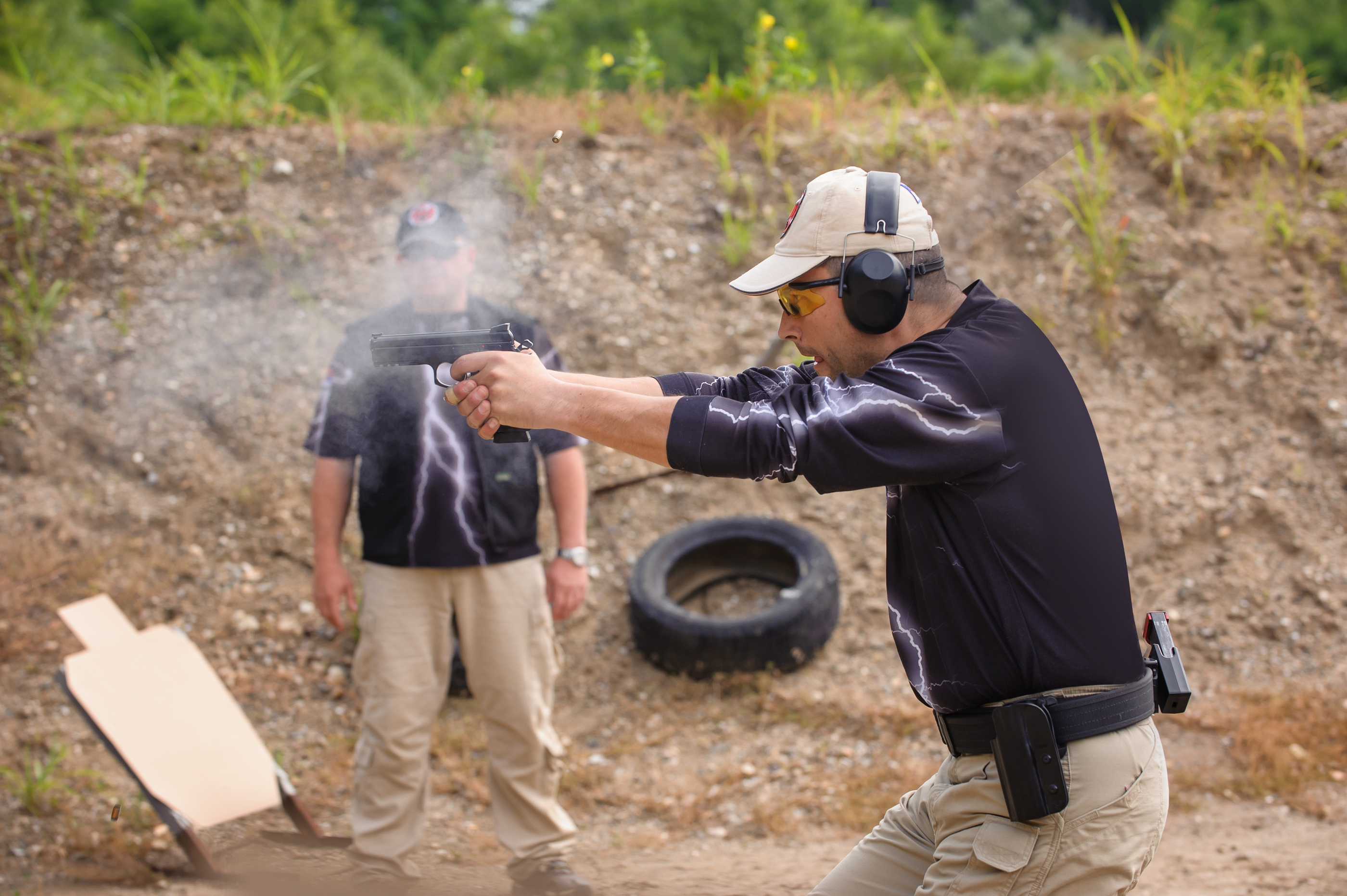 Shooting and Weapons Training