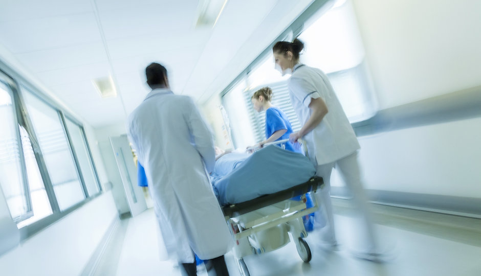 ziekenhuis Corridor