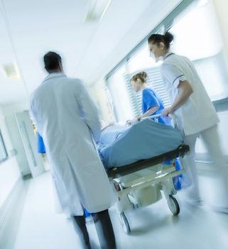 pasillo del hospital