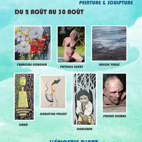 Exposition à l'Epicerie d'Art de BOUEE (44)