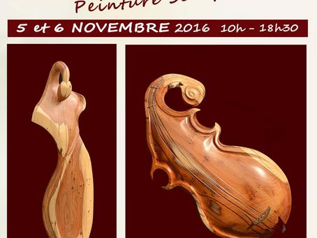 Salon des Artistes les 5 & 6 novembre 2016