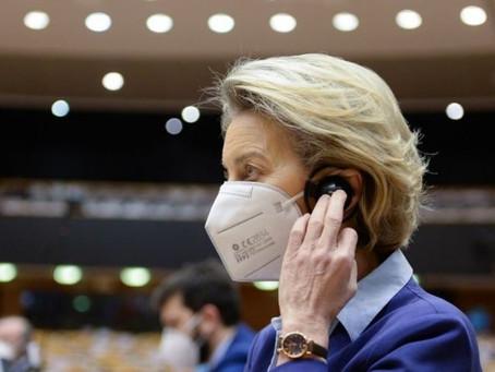 UE não está onde gostaria na vacinação contra Covid-19, diz presidente da Comissão Europeia