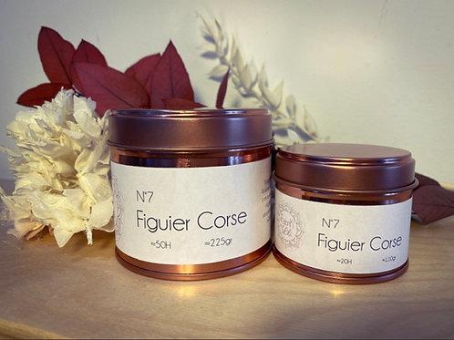Bougie parfumée Figuier Corse