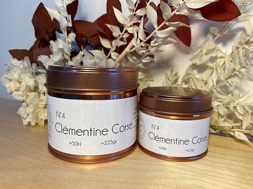Bougie parfumée Clémentine Corse