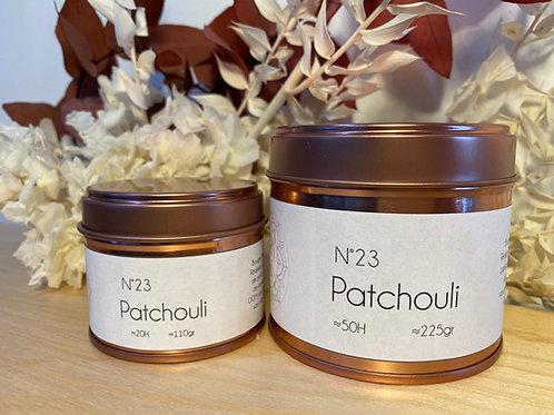 Bougie parfumée Patchouli