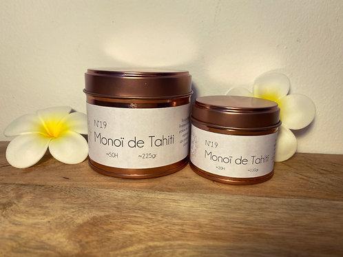 Bougie parfumée Monoï de Tahiti