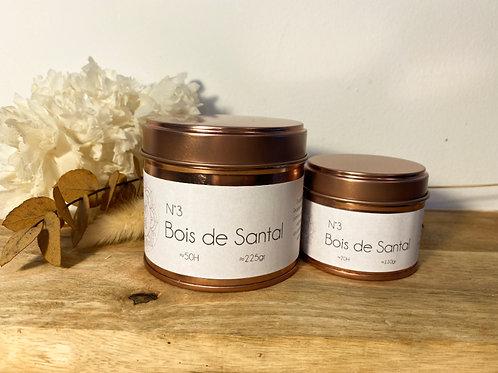 Bougie Parfumée Bois de Santal