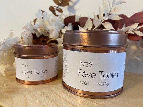 Bougie parfumée Fève Tonka