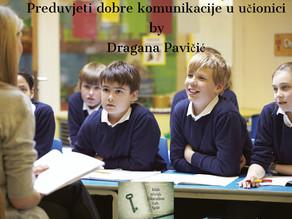 Preduvjeti dobre komunikacije u učionici