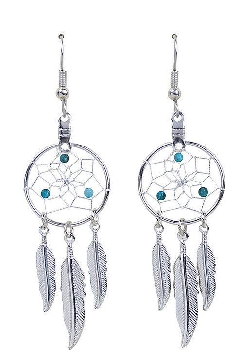 MARCH - AQUAMARINE/APATITE Birthstone DC Earrings