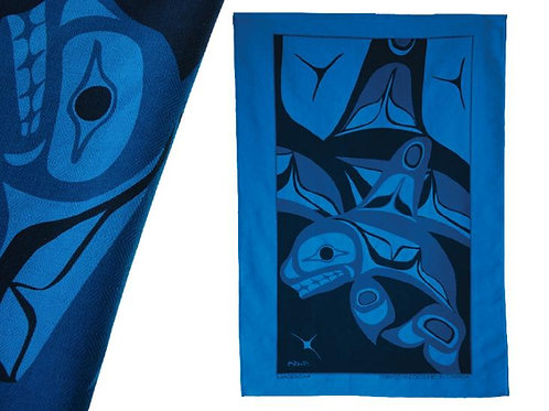Killer Whale Tea Towel