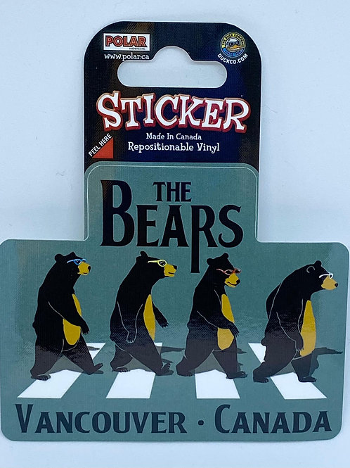 The Bears Sticker