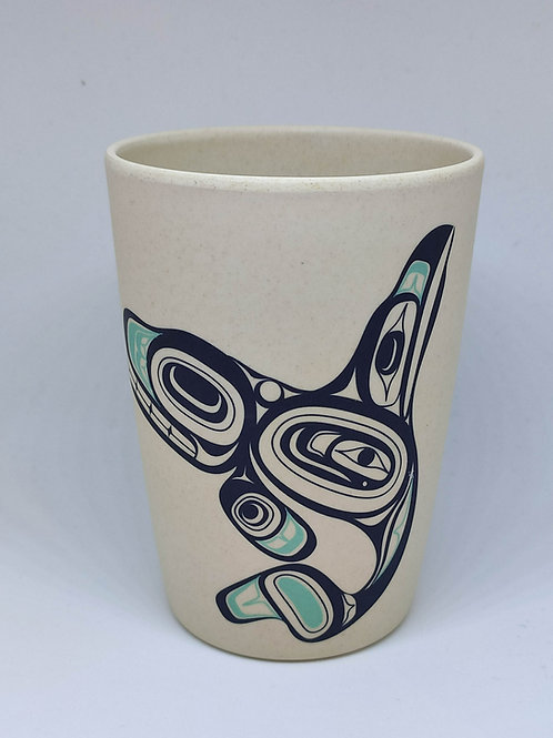 Bamboo Cup (Killer Whale)