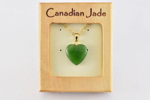 Jade Heart Pendant (S)