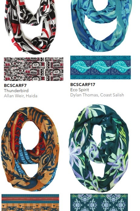 Bamboo Circle Scarves