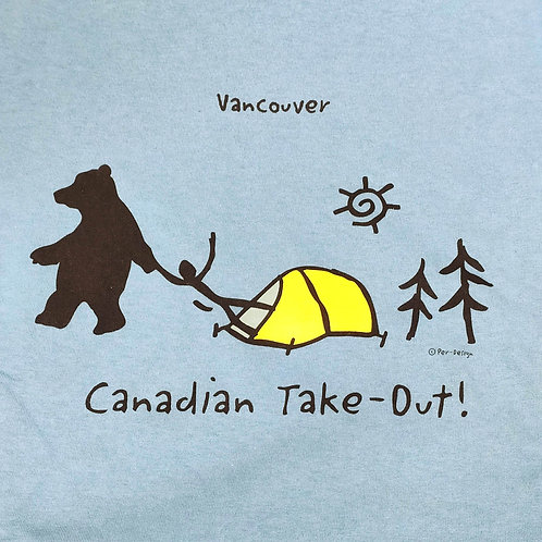 Canadian Take Out Adult T-Shirt