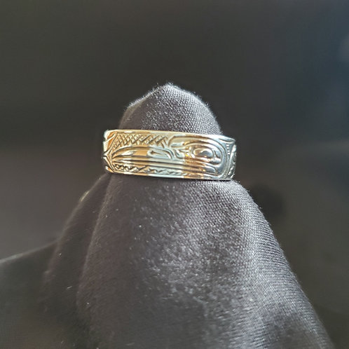 Humming Bird Ring - 1/4 Inch Wide