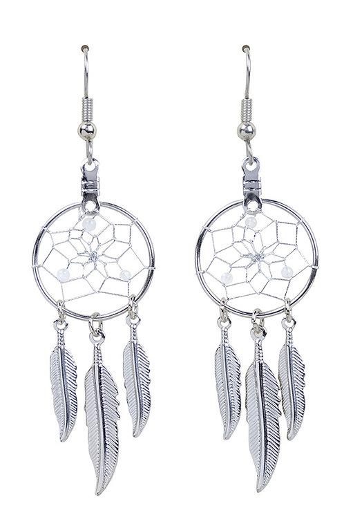 JUNE - MOONSTONE Birthstone DC Earrings