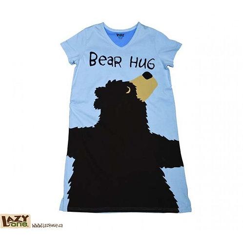 Sleep Shirt - Bear Hug (Blue)